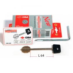 Комплект ключей Cisa 06.520.61.1